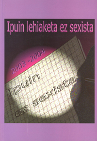Libro Cuentos no sexistas