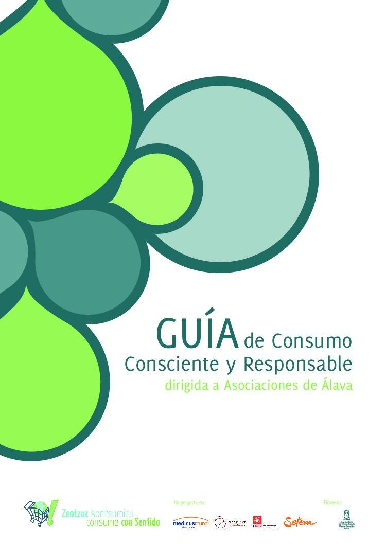 Guía de consumo consciente y responsable para asociaciones