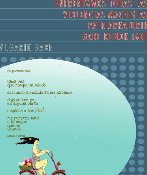Boletín Enfrentamos todas las violencias machistas, patriarkaturik gabe denok jabe (2011)
