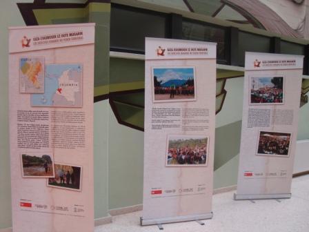 """Exposición """"Los Derechos Humanos no tienen fronteras"""" en Centros Cívicos de Vitoria- Gasteiz"""