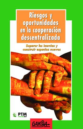 La dimensión política de la cooperación descentralizada (erderaz)