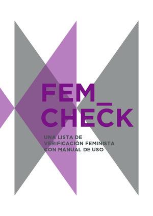 Fem_Check: Una lista de verificación feminista con manual de uso