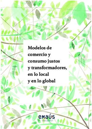 Modelos de comercio y consumo justos y transformadores en lo local y en lo global